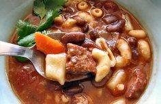 Portuguese Baked Pork & Beans Recipe