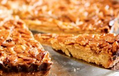 Portuguese Caramelized Almond Tart Recipe