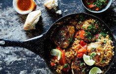 Portuguese Chicken Paella Recipe