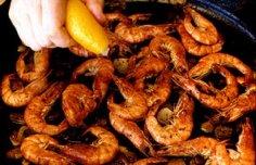 Portuguese Griddle Shrimp Recipe