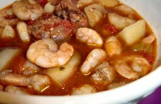 Portuguese Crock Pot  Shrimp Soup Recipe