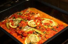 Portuguese Baked Fish Recipe