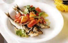 Portuguese Horse Mackerel with Roasted Pimento Sauce Recipe