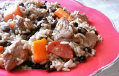 Portuguese Meat Rice Recipe