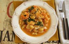 Portuguese Portuguese Pasta with Cod and Shrimp Recipe Recipe