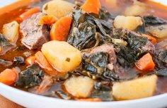 Portuguese Portuguese Kale & Beef Soup Recipe Recipe