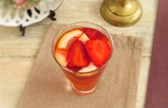 Portuguese Portuguese Style Lemonade with Strawberries Recipe Recipe