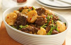 Beef and Yam Stew Recipe