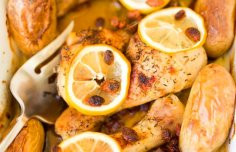 Portuguese Roasted Chicken Legs Recipe