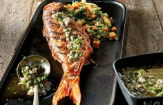 Portuguese Grilled Red Snapper Recipe