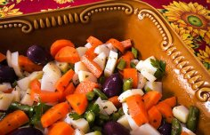 Portuguese Cooked Vegetable Salad Recipe