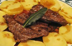 Portuguese Liver with Potatoes Recipe