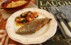 Portuguese Portuguese Fried Swordfish with Shrimp Recipe Recipe