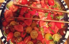 Portuguese Tomato Salad Recipe