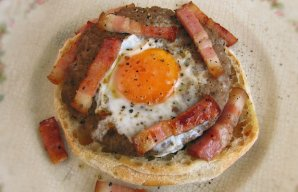 Portuguese Portuguese Style Burgers with Egg and Bacon Recipe Recipe