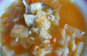 Portuguese Cabbage Soup Recipe