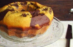 Portuguese Portuguese Chocolate Mango Marble Cake Recipe Recipe