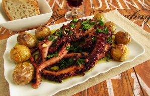 Portuguese Portuguese Roasted Octopus with Potatoes Recipe Recipe