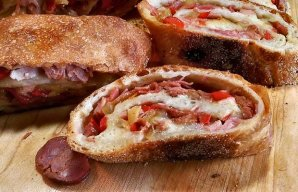 Portuguese Chouriço (Sausage) Bread Recipe