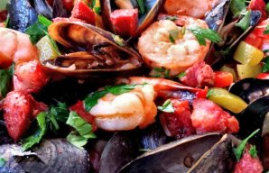Portuguese Mussels & Shrimp with Chouriço Recipe