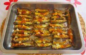 Portuguese Oven Roasted Sardines Recipe