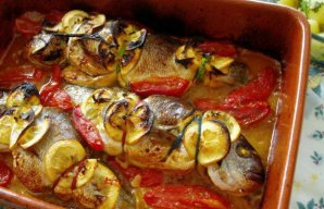 Portuguese Douradas (Fish) with Lemon Recipe