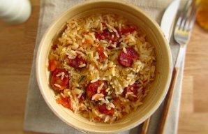 Portuguese Portuguese Chouriço Rice Recipe Recipe