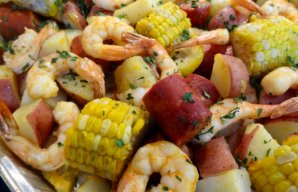 Portuguese Sheet Pan Shrimp Boil Recipe