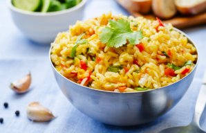 Portuguese Nandos Style Spicy Rice Recipe