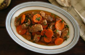 Portuguese Portuguese Stewed Pork with Carrots Recipe Recipe