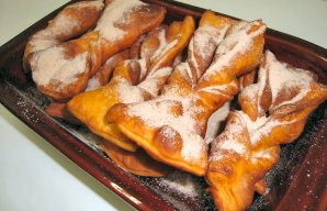 Portuguese Cinnamon-Sugar Twists Recipe