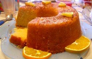 Portuguese Moist Orange Cake Recipe