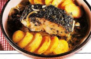 Portuguese Cod Coentrada Recipe