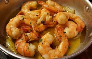 Portuguese Shrimp with Garlic Recipe