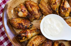 Portuguese Style Chicken Wings Recipe