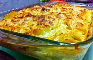 Portuguese Creamy Potatoes with Cod Recipe