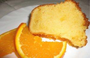 Portuguese Orange Cake Without Frosting Recipe