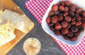 Portuguese Linguiça Sausage Snack Recipe