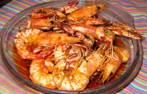 Portuguese Fried Shrimp with Beer Recipe