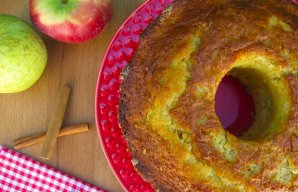 Portuguese Apple & Cinnamon Cake Recipe