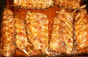 Portuguese Roasted Pork Ribs Recipe