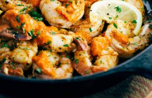 Portuguese Spicy Shrimp Recipe
