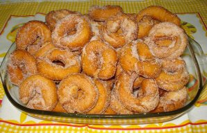 Portuguese Style Fried Donuts Recipe