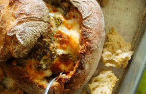 Portuguese Stuffed Bread Recipe