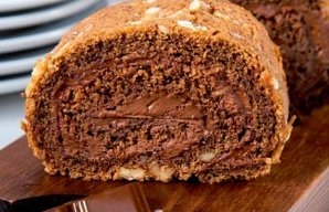 Portuguese Coffee & Walnut Roll Recipe