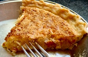Portuguese Moist Coconut Tart Recipe