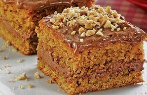 Portuguese Quick Peanut Cake Recipe