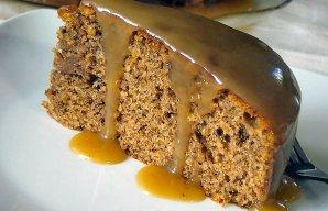 Portuguese Walnut & Cinnamon Cake Recipe