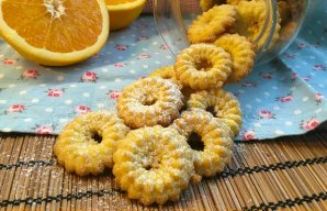 Portuguese Orange Cookies Recipe