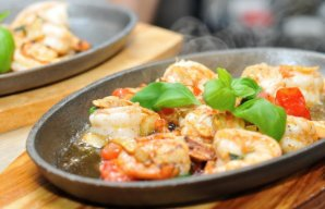 Portuguese Sauteed Shrimp Recipe